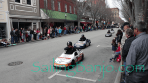 2018 Sudan Shriner's Parade in New Bern, NC mini-Nascar