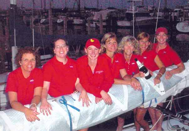 Babes Crew And South Shore Yacht Club Members Cheri Kolp