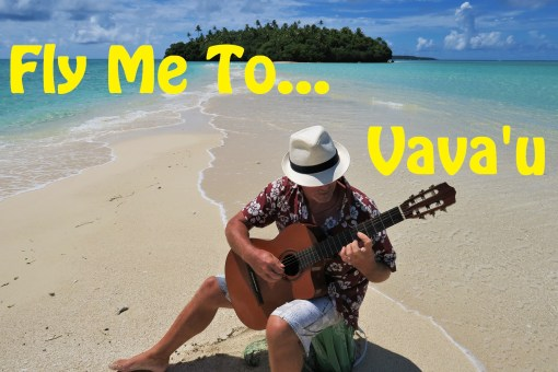 Rick plays Fly Me To The Moon in Vava'u