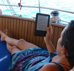 Jaz in moj Kindle