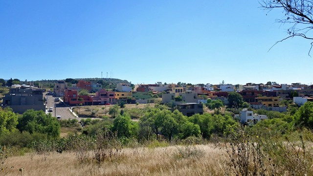 The country side of San Miguel de Allende