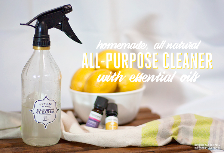DIY All-Purpose Cleaner Sailing Chance