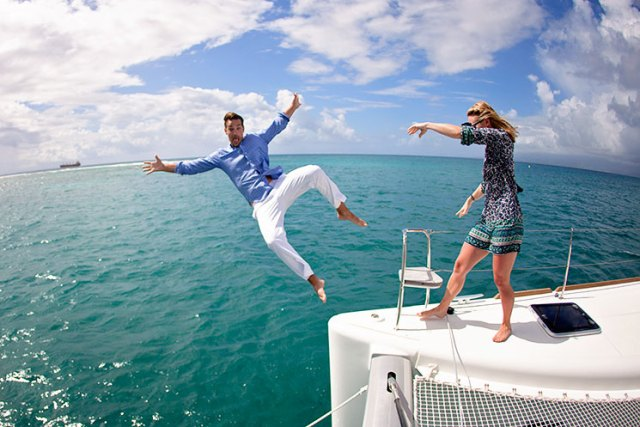 This is what happens when you fake propose on April Fools Day on a sailboat