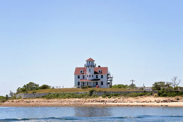 Block Island is full of beautiful, and huge, houses.