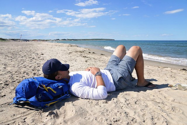 Beach naps are the best.