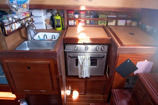 our favorite sailboat galley equipment