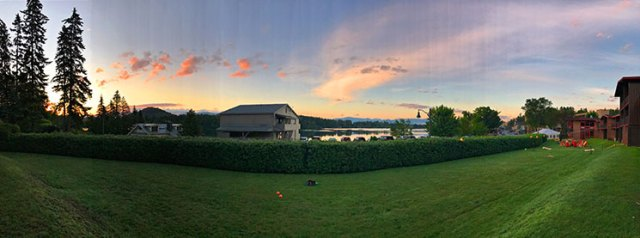 Sunrise in Lake Placid, New York