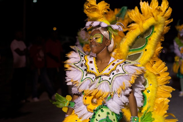 incredible and intricate costumes are found at Marsh Harbour Junkanoo in the Bahamas
