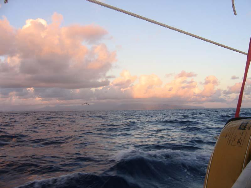 Approaching Hilo 8/28/08