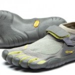 Vibram Five-Fingers: They look strange but grip well.