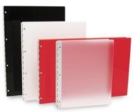 Acrylic Notebooks makes a durable and inexpensive log book