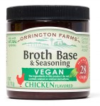 Orrington Farms or Better Than Bouillon brands of paste style bouillon are highly recommended for flavor