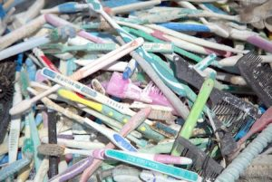 Toothbrushes found on uninhabited pacific island