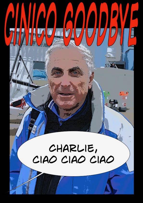 Cinico Sailing: ciaone Charlie Cross
