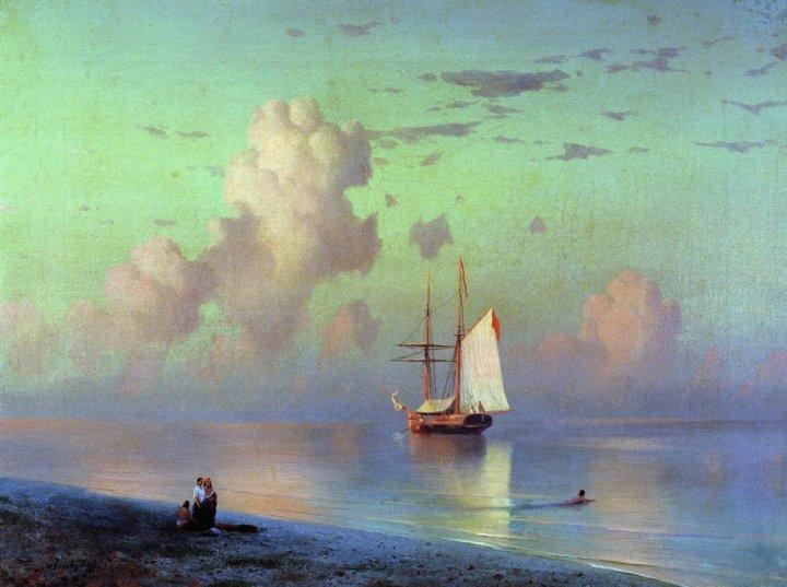 Sunset, 1866