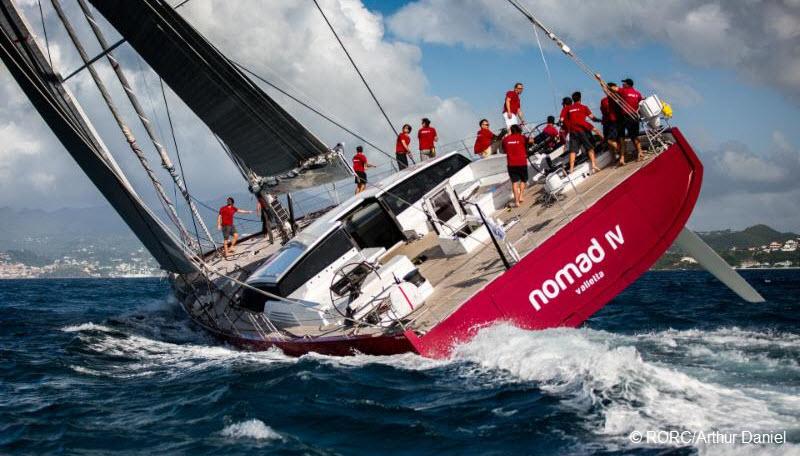 Nomad IV Sets Bar In RORC Transatlantic Race