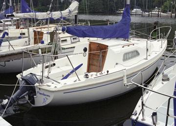 1975 Pearson 26 Sailboat For Sale
