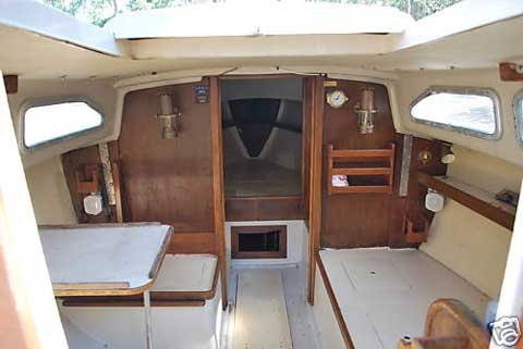 Ranger 26 1972 Hartwell Georgia Sailboat For Sale