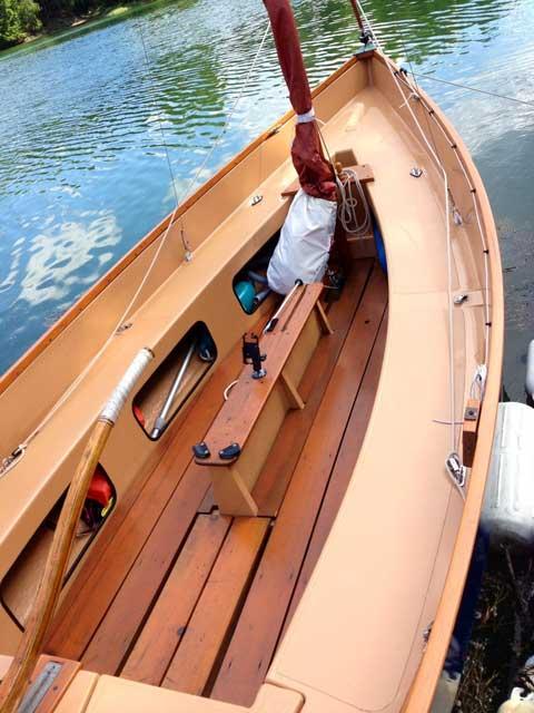 Drascombe Lugger 19 Ft 1973 Harpswell Maine Sailboat