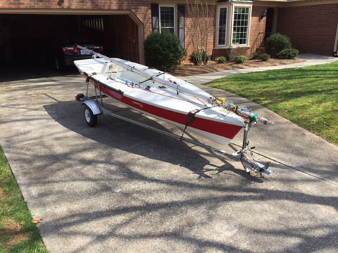 Laser 2 Regatta Greensboro North Carolina