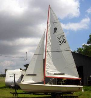 Apollo 16 sailboat for sale