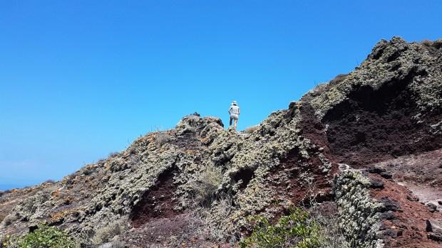 Sur la montée entre Oia et Thira