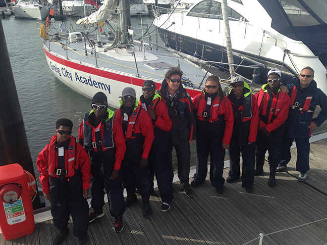 Inner City Pupils To Take On The Fastnet Sailing Today