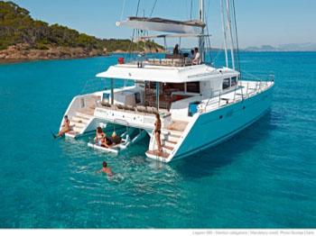 Blue Moon catamaran charters