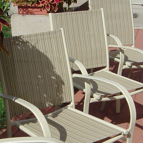 selecting patio sling chair replacement