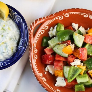 Heirloom Tomato Greek Salad | Sails & Spices