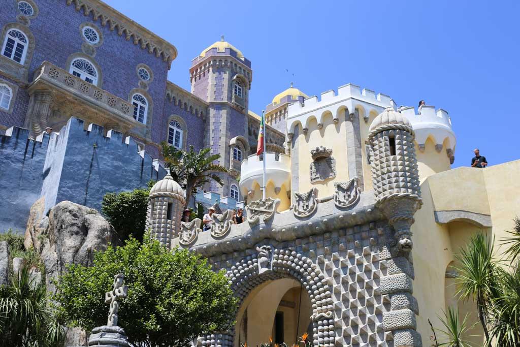 Sintra, Portugal Pena Palace