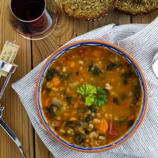 This hearty tuscan soup is the perfect remedy to a chilly afternoon.