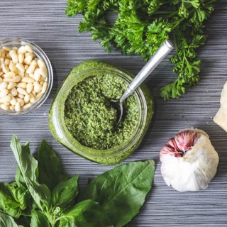 Parsley Basil Pesto Recipe