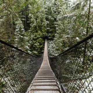 Lynn Canyon Vancouver Suspension Bridge
