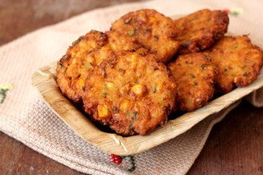 Image result for image of Maize vadas, telangana