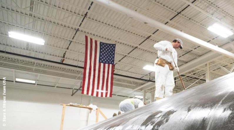 AC36 – Stars & Stripes detail their boat build and design process