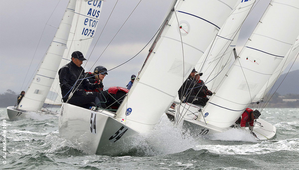 Etchells Victorian State Championship to Magpie of Graeme Taylor