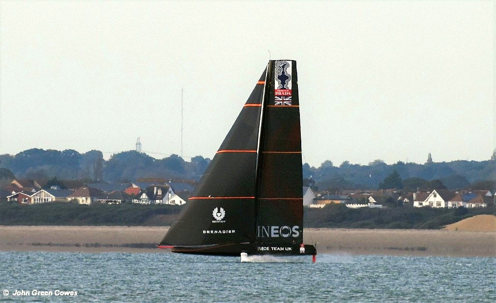 America's Cup – INEOS Team UK go for the Full Monty
