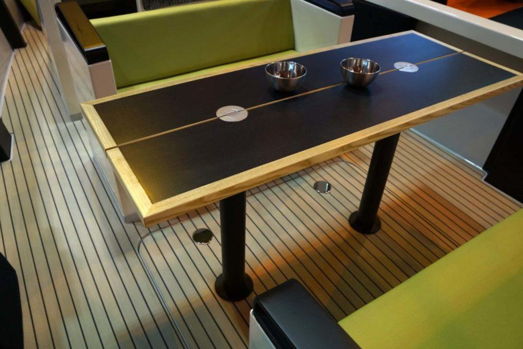 Table Carbone en situation