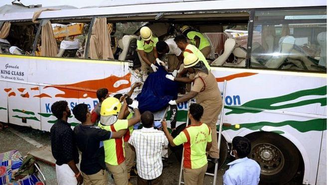 भारतीय बस दुर्घटनामा  १० नेपालीको मृत्यु (नामावली सहित)