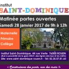 Portes Ouvertes St-Dominique – 28 Janvier 2017 !!!