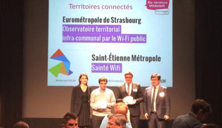 Saint-Étienne obtient le label d'or des territoires innovants