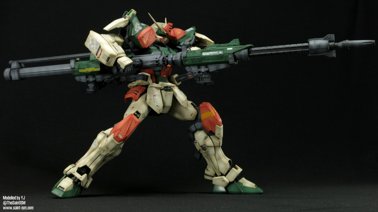 Gundam For The Barrel: MG Buster Gundam – Completed