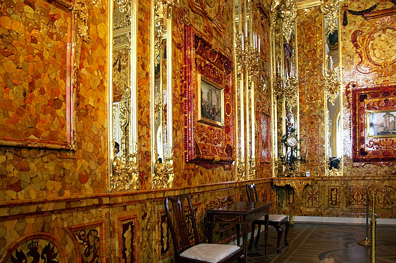 Image result for the amber room