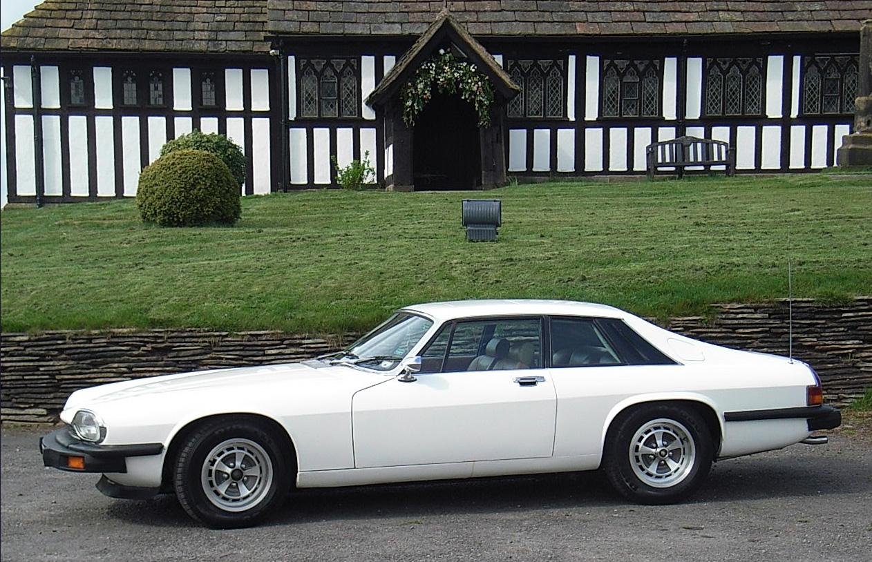The Saints Jaguar XJS
