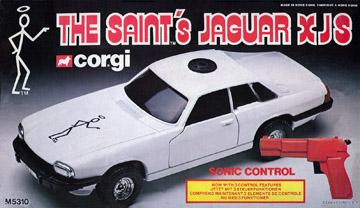 The Saint's Jaguar by Corgi with Sonic Control