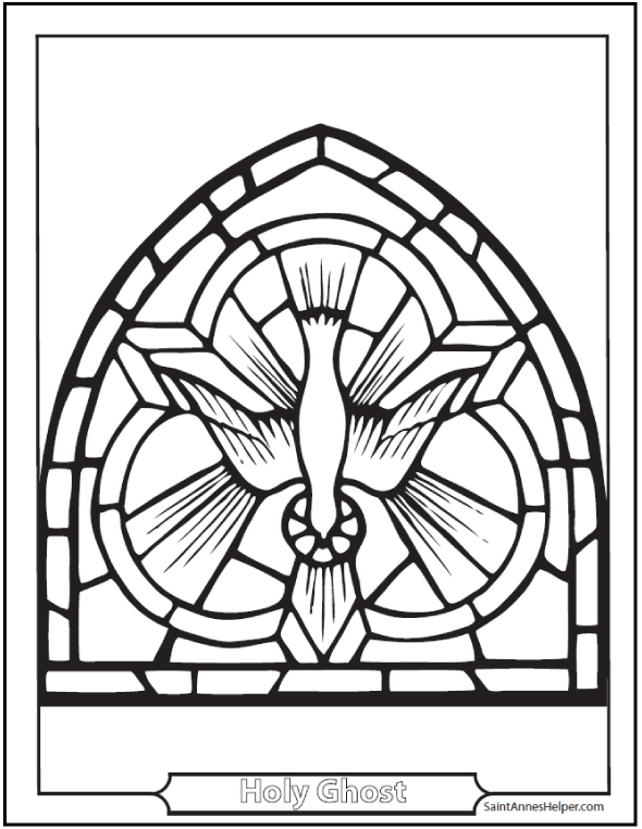 150 Catholic Coloring Pages Sacraments Rosary Saints