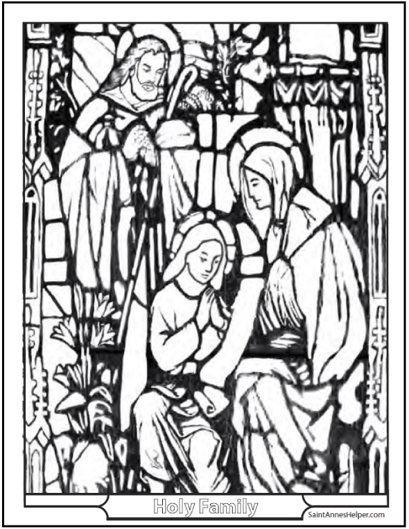 12 Mothers Day Coloring Pages Honor Mary And The Holy