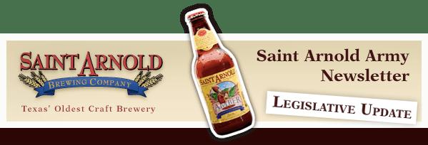 Saint Arnold Army Newsletter