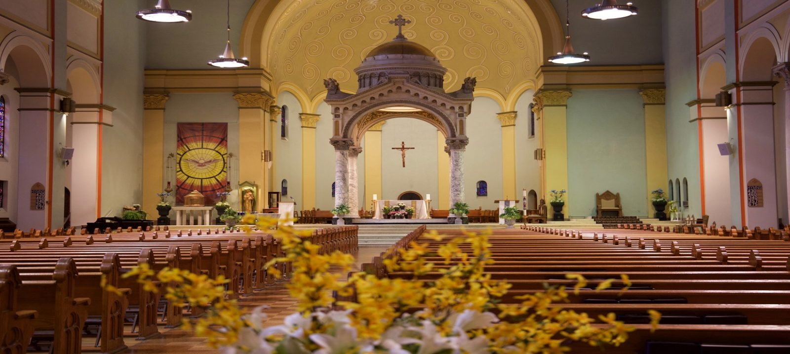 Welcome to <br>Saint Benedict Cathedral